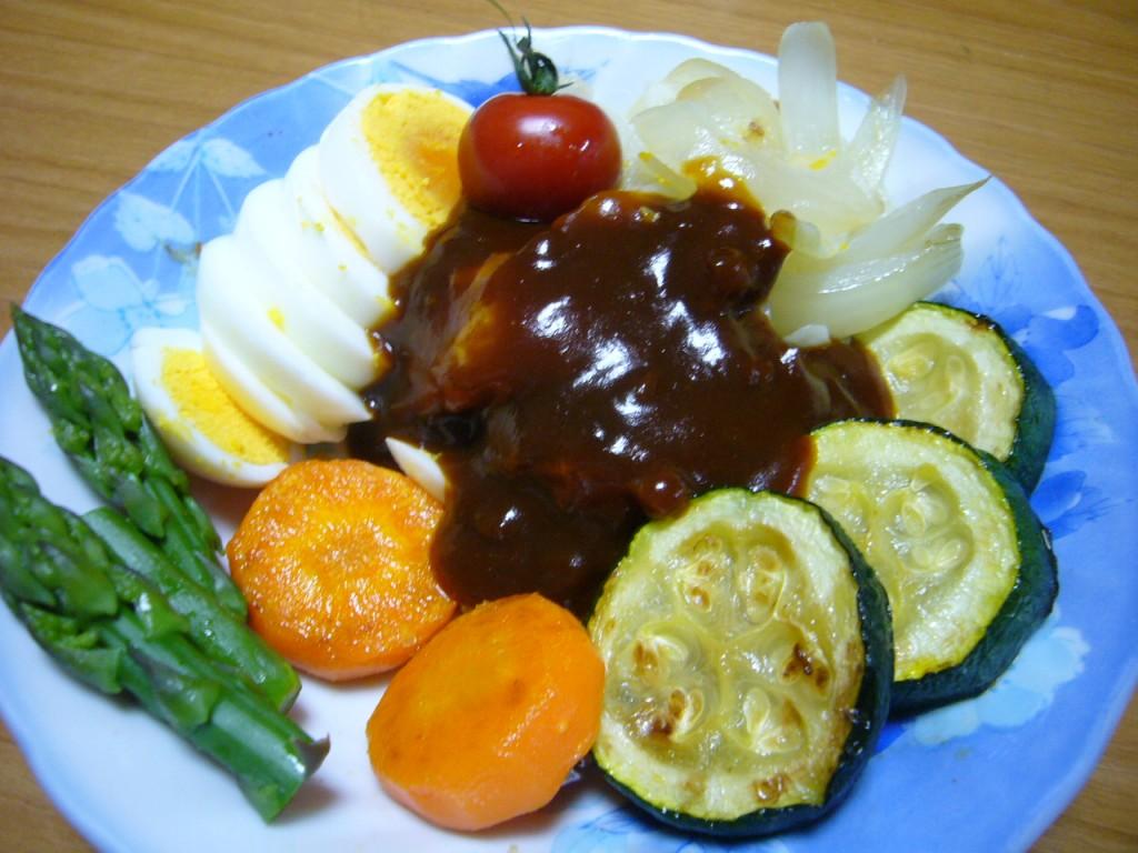 焼き夏野菜♪